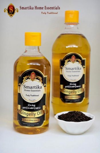 Gingelly Oil - Cold Pressed / Chekku Oil-1000 ml