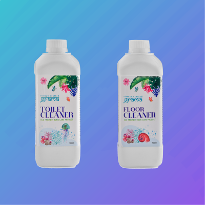 Grama Home Care - Floor Cleaner & Toilet Cleaner Combo
