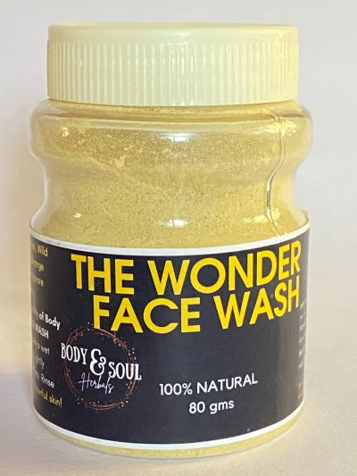 Body and Soul Herbals' THE WONDER FACE WASH