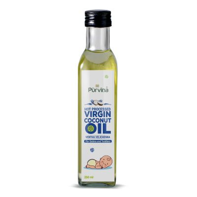 Purvina 100% Pure and Natural Baby Massage Oil-250 ml