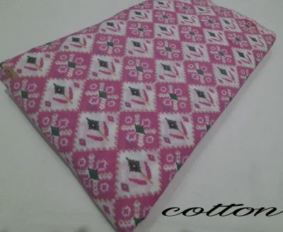 Cotton printed running fabric_Pink Floral
