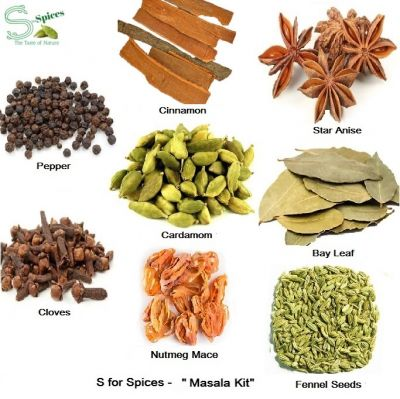 S for Spices Masala Kit_250 gm