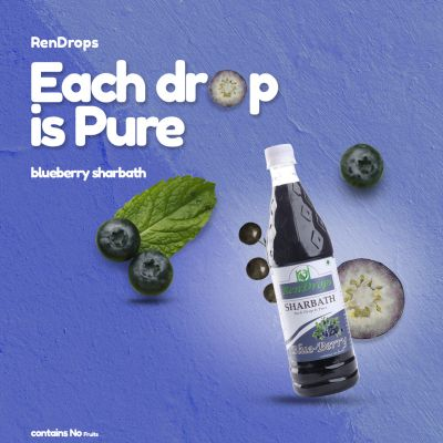 RENDROPS - Blueberry Syrup (700Ml)