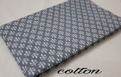 Cotton printed running fabric_Grey