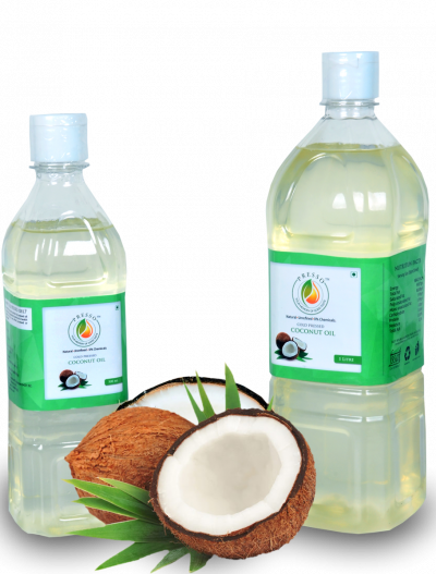 COLD PRESSED COCONUT OIL - 1/2LTR