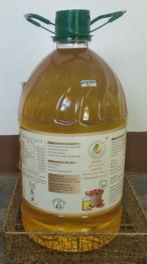 COLD PRESSED GROUNDNUT OIL - 5LTRS