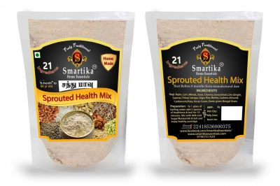 Smartika Health Mix - HOMEMADE with Sprouted Millets
