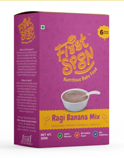 First Spoon Ragi Banana Mix