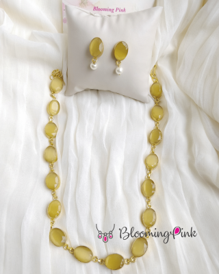 Bia Necklace Set-Yellow