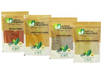 Organic Spices Combo Pack
